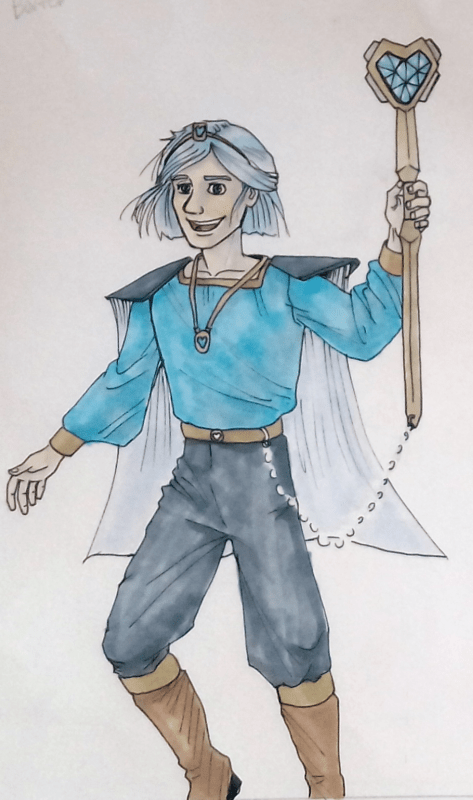 Jacob Iceheart Gearshift, inspired from Jack Frost (RotG)